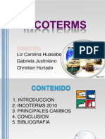 INCOTERMS- Ultima Modificacion