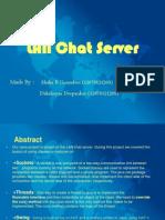 Java Mini Project Lan Chat
