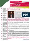 Newsletter de Romain Colas n°1 Novembre 2014