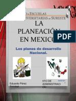 La Planeación en Mexico