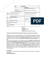 Documentos Procedssales