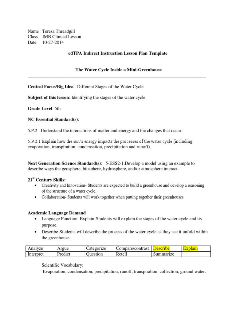 Workbooks water cycle worksheets for grade 2 : Excellent Water Cycle Template Images - Example Resume Ideas ...