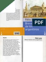 Luna Felix - Breve Historia de Los Argentinos