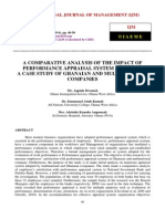A Comparative Analysis of the Impact of Performance Appraisal System in Ghana a Case Study of Ghanaian and Multinational Companies