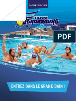 Guide  de la Saison  2014-2015 du Team Strasbourg Water Polo