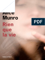 Rien Que La Vie - Alice Munro