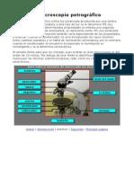 El Microscopio Petrografico