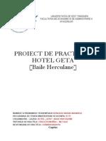 Proiect Hotel Geta