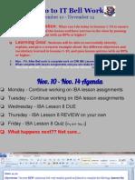 bell work 11-10-11-14