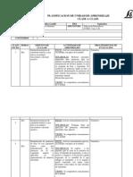 Planificacion de Unidad de Aprendizaje Clase a Clase Julio 7mo