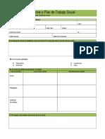 Informe y Plan de Trabajo Social Usaer