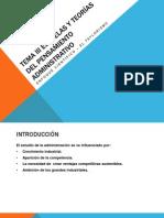 Tema III Escuelas y Teorias Del Pensamiento Administrativo Unidad I