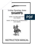 Manual 1874 Sharps