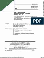 SR en 1427-2007 Bitum Si Lianti Bituminosi