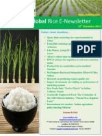 10th November,2014 Daily Global Rice E-Newsletter by Riceplus Magazine