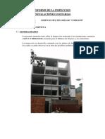 Informe de Inspeccion de Instalaciones Sanitarias