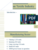Pakistan Textile Industry by (MNA bzu Graduates)