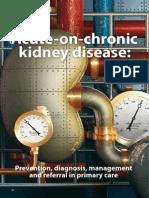 Acute on Chronic Kidney Disease
