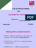2011.Suplementos proteicos
