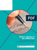 Before Signing on the Dotted Line - All You Need to Know About Procuring Public Sector Contracts