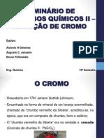 SEMINÁRIO DE PROCESSOS QUÍMICOS II – REMOÇÃO DE.pptx