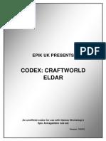 Codex Craft World Eldar