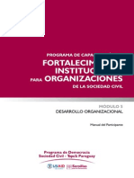 Manual Participante Desarrollo Organizacional