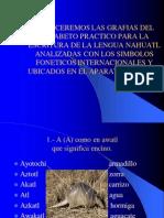Escritura de La Lengua Nahuatl