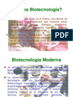 Que Es Biotecnologia