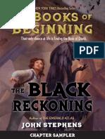 The Black Reckoning by John Stephens | Chapter Sampler