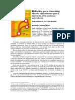Didáctica Para El E-learning