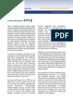 Q3 2014 Patient Capital Management