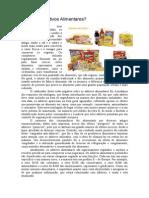aditivos alimentares