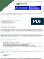 Contoh menghitung kebutuhan cor beton.pdf