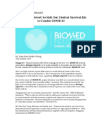 Biomed Industries Press Release