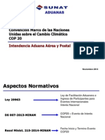 SUNAT. Aspectos Normativos, Operativos e Información para Misiones Diplomáticas. 7 Nov. 2014 -