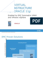 Virtual Infrastructure Oracle 11g v Max Vsphere