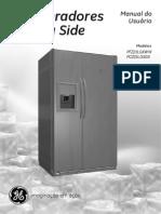 Manual Dos Refrigeradores GE, Modelos PFZ23LGXWW e PCZ23LGXGS