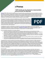 Encuesta de SAP Devela Dificultades de Las Empresas Para Sacar Provecho de Big Data_1