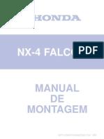 Manual Falcon Montagem