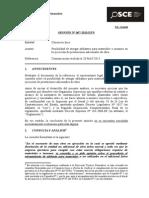 067-13 - PRE - CONSORCIO INCA - Adelanto de Materiales Para La Ejecucion de Adicionales de Obra