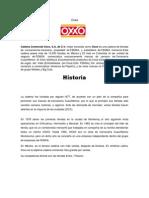 Oxxo Reporte de Lectura