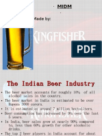Kingfisher Beer New