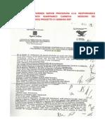 Allegato a Conferenza Servizi Procedura a.i.a. Responsabile Procedimento Arch Gianfranco Cannova Nessuno Dei Partecipanti Conosce Progetto 31 Gennaio 2007