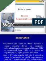 Manual de Implantação do Sistema Nacional de Gerenciamento de Produtos Controlados -TROCA DE RESPONSAVEL