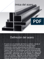 Química Del Acero (ponencia)