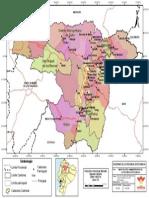 Mapa Politico Administrativo Pichincha Opt