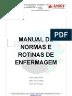 CAPS - Normas e Rotinas Enfermagem
