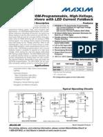 Datasheet MAX16805-MAX16806