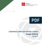 Syllabus ECDL V2 - Image Editing - Ita